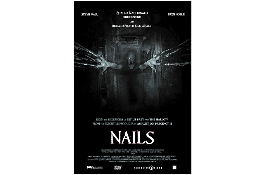 1- NAILS - horror movie film poster